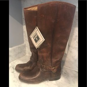 Frye Phillip Ring Tall Riding Boots